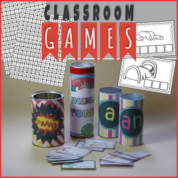 Vocabulary Games and Activities - Growing Resource
