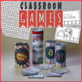 Letter Tile Cards Vocabulary Games and Activities - Growing Resource