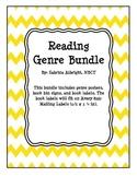 Chevron Reading Genre Bundle