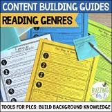 Reading Genre Content Building Guides: PLC Planning Tools