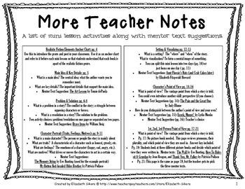 Reading Genre Mini Lessons