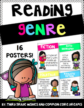 Reading Genre Poster Set
