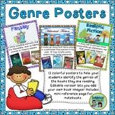 Reading Genre Posters-Editable!