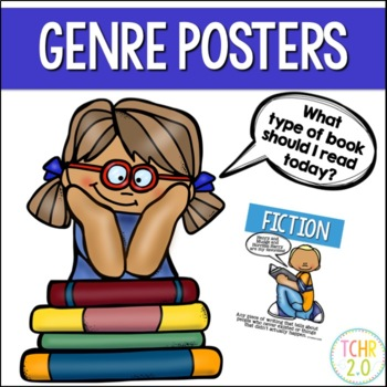 Reading Genre Posters Anchor Charts Back to School Bunting Banner