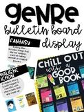 Reading Genre Posters Bulletin Board Display