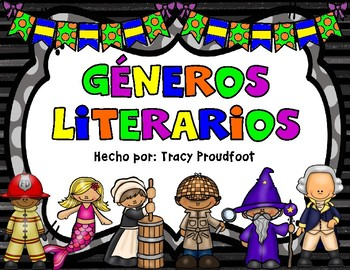 Reading Genre Posters - English and Spanish