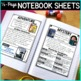 Reading Genre Posters, Genre Anchor Charts & Reader's Notebook Sheets