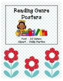 Reading Genre Posters - Simple and Direct