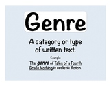 Reading: Genre Posters and Definitions