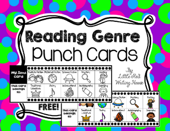 Reading Genre Punch Cards