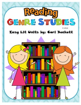 Reading Genre Studies Posters & Book Reports