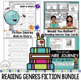Reading Genres Fiction Activities Bundle