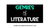 Reading Genres Google Slides Lesson | Distance Learning