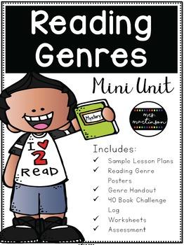 Reading Genres Mini Unit