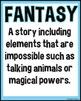 Reading Genres Poster Set