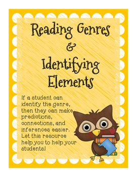 Reading Genres and Identifying Elements