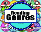 Reading Genres (posters, charts, memory game)