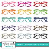 Reading Glasses- Eyeglasses- Clip Art Pack