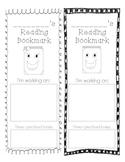 Reading Goal Bookmark