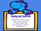 Reading Goal Bookmark- Dinosaur