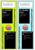 Reading Goal Bookmarks