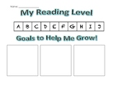 Reading Goal Chart