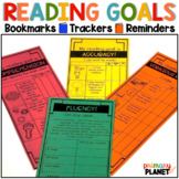 Reading Goal Bookmarks | Reading Goal Sheet for Students