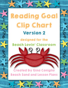 Reading Goal Clip Chart VERSION 2
