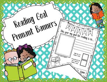 Reading Goal Pennant Banner