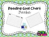 Reading Goal Chart Freebie