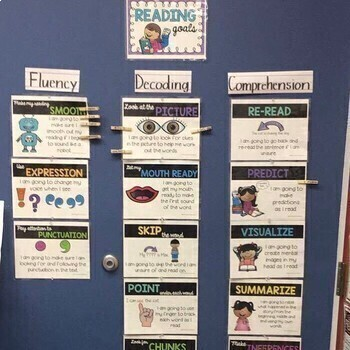 Reading Goal Posters