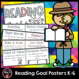Reading Goal Posters K-6