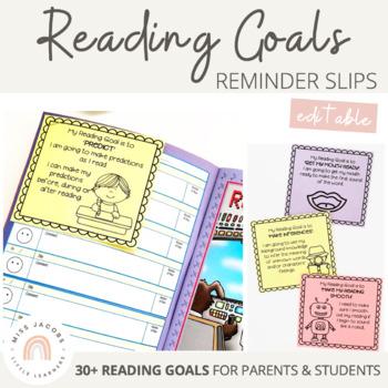 Reading Goals