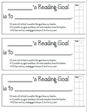 Reading Goal & Rubric