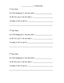 Reading Goal Setting Sheet (STAR and AR)