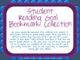 Reading Goal Student Bookmarks