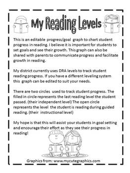 Reading Goal and Progress Graph