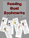 Reading Goal and Strategy Bookmarks for Second Graders