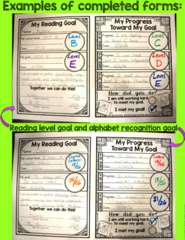 Reading Goals Recording Sheets FREEBIE!