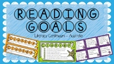 Reading Goals - Aligned with the Australian Continuum (Version 2)