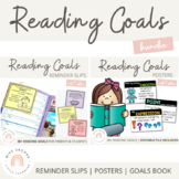 Reading Goals {Bundle}