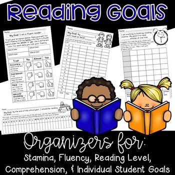 Reading Goals: Fluency, Stamina, Level, Comprehension, Individual Needs