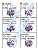 Reading Strategy/Goal- Post It Template- EDITABLE
