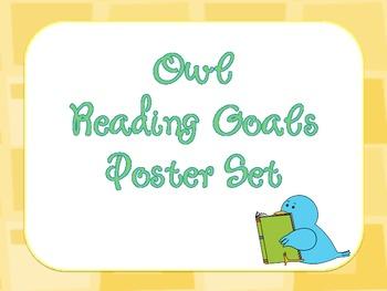 Reading Goals Poster Set