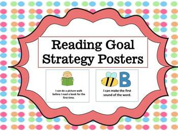 Reading Goals & Strategy Posters
