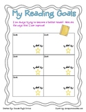 Reading Goals Teacher and Student recording tool