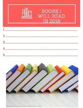 Reading Goals for 2018