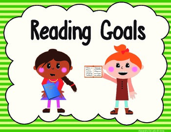 Reading Goals with Common Core State Standards