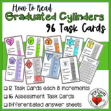 Reading Graduated Cylinders - Task Cards