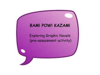 Reading Graphic Novels: Pre-Assessment Survey